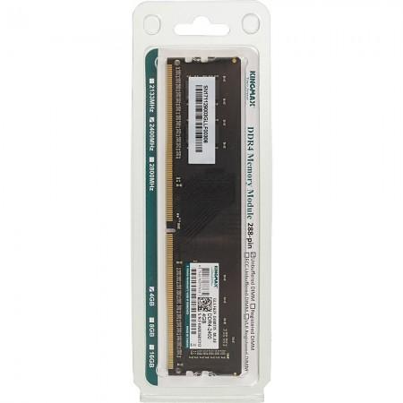 Модуль памяти для компьютера DIMM DDR4 4Gb (2400MHz) Kingmax 288-pin 1.2В