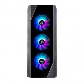 Корпус ATX Zalman N5 TF, Midi-Tower, без БП, черный [n5 tf black]