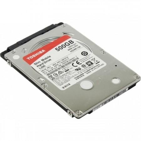 "жесткий диск HDD Toshiba SATA3 500Gb 2.5"" L200 Slim 5400 8Mb HDWK105UZSVA"