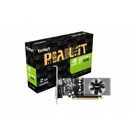 Видеокарта 2Gb PCI-Exp Palit GeForce GT1030 GDDR5 (64bit) DVI/HDMI (OEM) NE5103000646-1080F