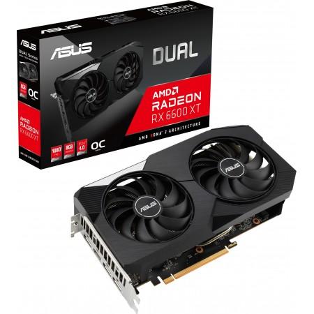 Видеокарта AMD PCI-E 8Gb Radeon RX6600XT DUAL-RX6600XT-O8G Asus