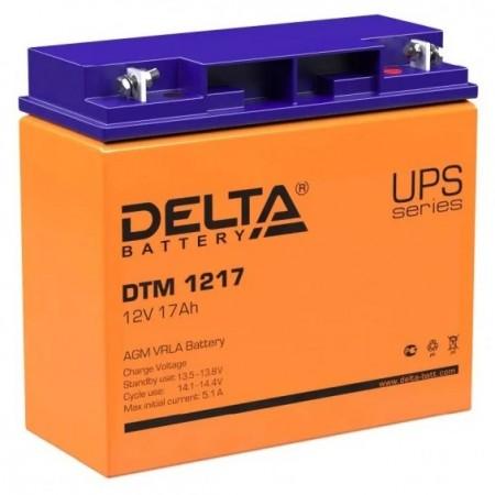 Аккумуляторная батарея Delta DTМ 1217 (12V 17Ah)