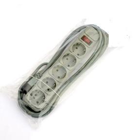 Сетевой фильтр DeTech UPS 5,0M DT-SP05-10-5,0M-C14 (5 р.) Gray
