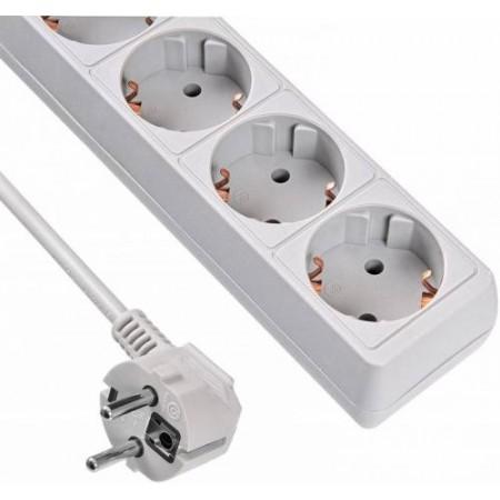 Сетевой фильтр Buro 500SL-1.5-G 1.5м (5 розеток) серый (пакет ПЭ)