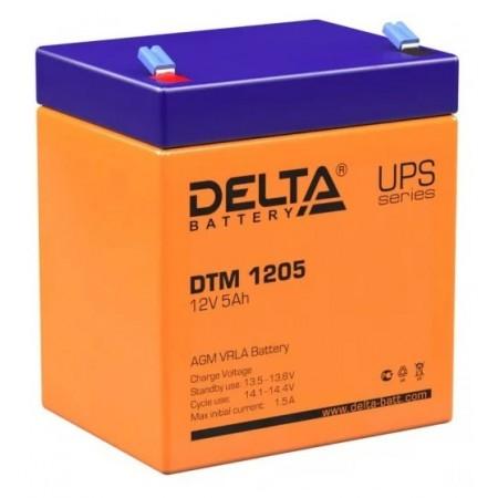 Аккумуляторная батарея Delta DTM 1205 (12V 5Ah)
