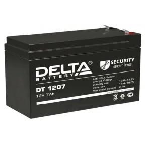 Аккумуляторная батарея Delta DT 1207 (12V 7Ah)