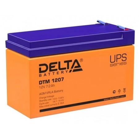 Аккумуляторная батарея Delta DTM 1207 (12V 7,2Ah)