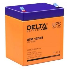 Аккумуляторная батарея Delta DTM 12045 (12V 4,5Ah)