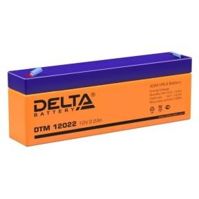 Аккумуляторная батарея Delta DTM 12022 (12V 2,2Ah)