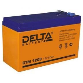 Аккумуляторная батарея Delta DTM 1209 (12V 8,5Ah)
