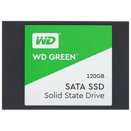 """Твердотельный накопитель SSD WD 120ГБ SSD 2,5"""""""