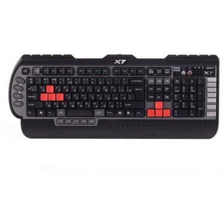 Клавиатура A4 G800V черный USB Multimedia for gamer