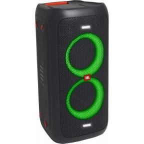 Портативная акустическая система JBL PartyBox 100 RMS 160W Bluetooth, 2.0 питание от аккумулятора, чёрный