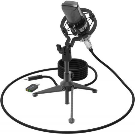 Микрофон RITMIX RDM-160, черный [80000132]