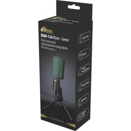 Микрофон RITMIX RDM-126, черный [80000956]