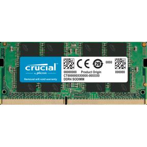 Модуль памяти для ноутбука SODIMM DDR4 4Gb PC4-19200 Crucial CT4G4SFS824A