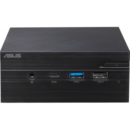 Неттоп(аналог NUC) ASUS PN40-BBP559MV, Intel Pentium Silver N5000, DDR4 Intel UHD Graphics 605, noOS, черный [90ms0181-m05590]