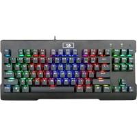 Клавиатура Redragon Visnu игровая, механическая, влагоустойчивая, RGB подсветка, USB, чёрный