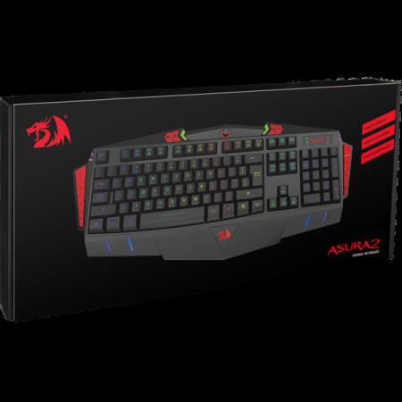 Игровая клавиатура Redragon Asura 2 Black USB