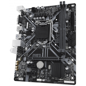 Материнская плата MB Socket 1151v2 GIGABYTE H310M S2 1.1 Intel H370 2xDDR4 mATX AC`97 8ch(7.1) GbLAN+VGA 2512