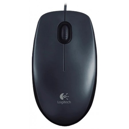 Мышь Logitech Mouse M100 USB Dark Ret new 910-005003
