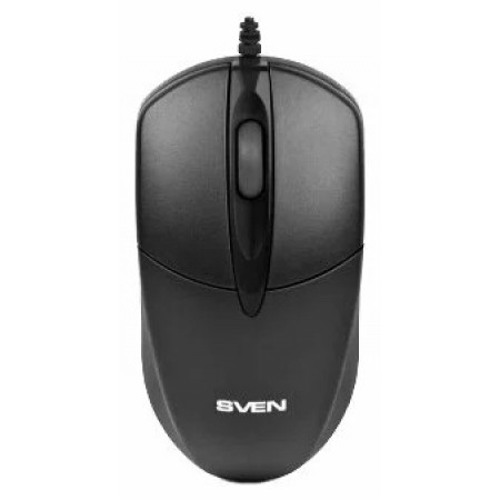 Мышь SVEN RX-112 USB+PS2 чёрная / SV-03200112UPSB /