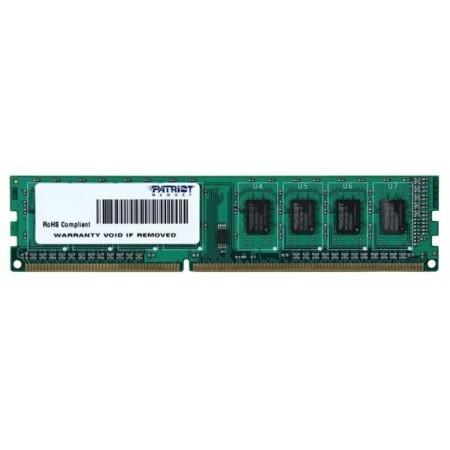 Модуль памяти DDR3 4Gb PC12800 Patriot (PSD34G160081)