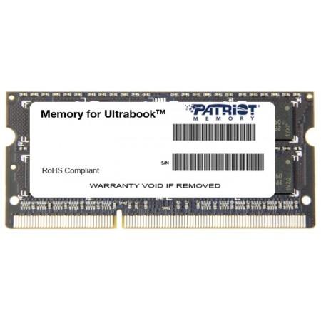 Модуль памяти SODIMM 4Gb DDR3L Patriot PC12800 (PSD34G1600L2S)