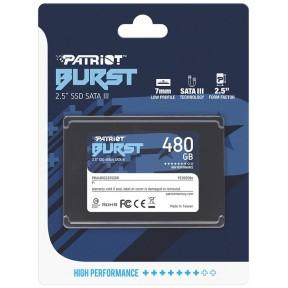 "Накопитель SSD SATA 2,5"" 480Gb Patriot Burst Elite [PBE480GS25SSDR]"