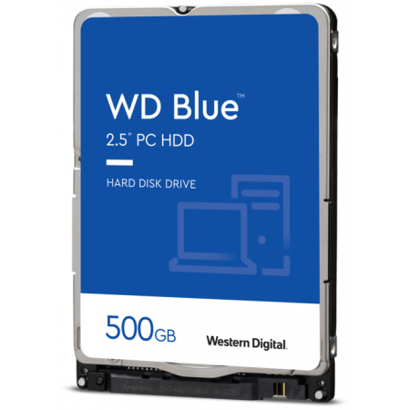 "Жесткий диск 2.5"" SATA 500Gb WD Scorpio Blue WD5000LPCX"