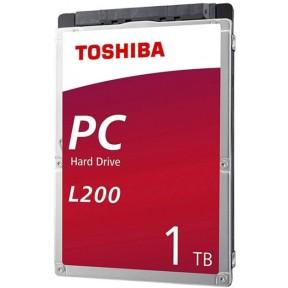 "жесткий диск HDD Toshiba SATA3 1Tb 2.5"" L200 Slim 5400 128Mb HDWL110UZSVA"