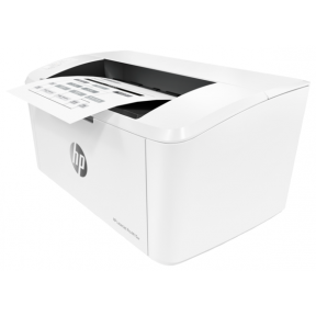 Принтер лазерный HP LaserJet Pro M15w, белый