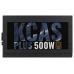 Блок питания 500 Вт AeroCool KCAS-500 PLUS 80+ bronze (24+4+4pin) APFC 120mm fan 7xSATA RTL 2724