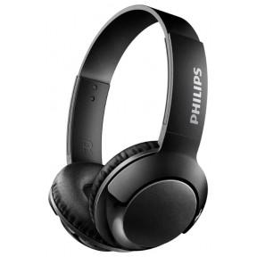 Наушники PHILIPS SHB3075WT, Bluetooth, накладные, белый [shb3075wt/00]