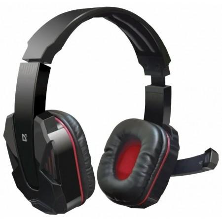 Defender Игровая гарнитура Warhead G-260 красный + черный, кабель 1,8 м / 64121 /