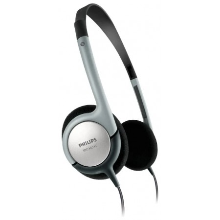 Наушники Philips SBCHL145/10 Gray Проводные / Накладные / Серый / 18 Гц - 20 кГц / 96 дБ / Двухстороннее / Mini-jack / 3.5 мм
