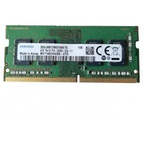 Модуль памяти для ноутбука SODIMM DDR4 4GB UNB SODIMM 2666 Samsung 1.2V M471A5244CB0-CTD