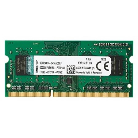 Модуль памяти для ноутбука Kingston SODIMM 4GB 1600MHz DDR3L