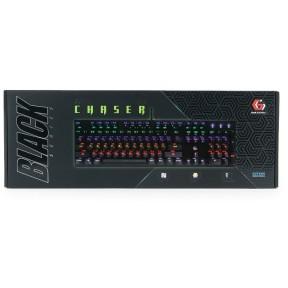 Клавиатура GEMBIRD KB-G550L игровая, механическая, подсветка, USB, чёрный 2180