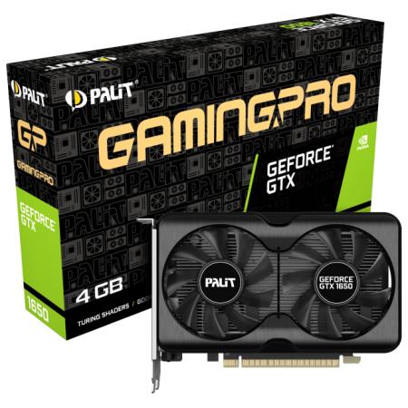 Видеокарта PCI-E 4Gb PALIT GTX1650 GP 4G D6 GDDR6