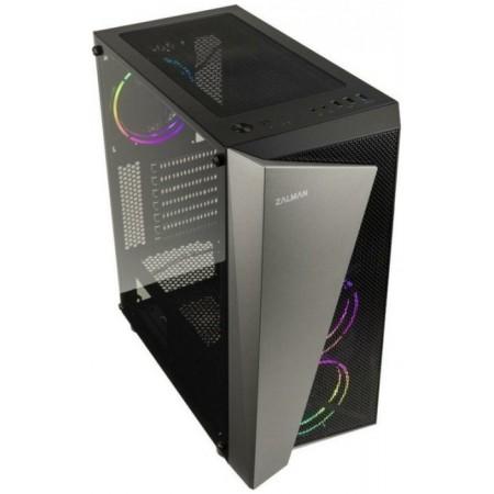Корпус ATX Midi-Tower ZALMAN S4 Plus без БП, черный [s4 plus black]