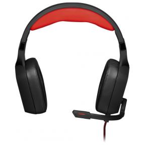 Игровая гарнитура Redragon Aspis Pro, с микрофоном, чёрно-красный 2767