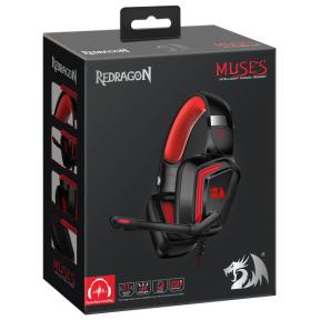 Игровая гарнитура Redragon Muses объемный звук 7.1, кабель 2 м / 78389
