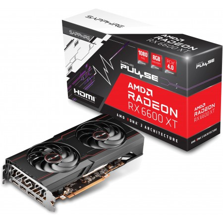 Видеокарта AMD PCI-E 8Gb Radeon RX6600XT Gaming OC Pulse Sapphire