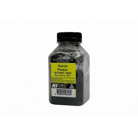 Тонер Hi-Black для Xerox Phaser 3010/WC 3045, Bk, 60 г, банка